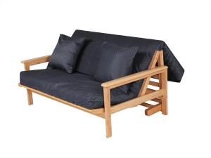 futon tri fold style